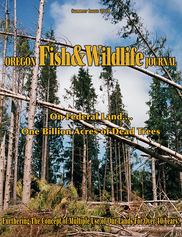 Summer Issue 2019 Oregon Fish & Wildlife Journal