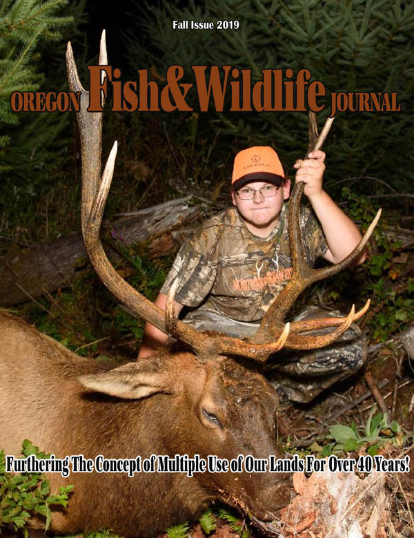 2019 Fall Issue Oregon Fish & Wildlife Journal