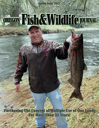 Winter 2015 Issue Oregon Fish & Wildlife Journal