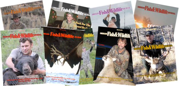 Oregon Fish & Wildlife Journal Past Issues
